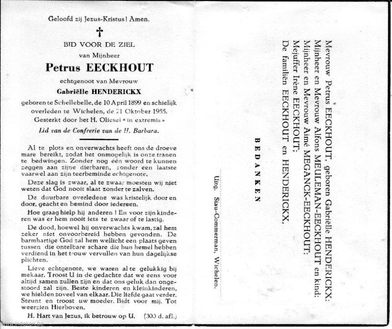 Petrus Eeckhout