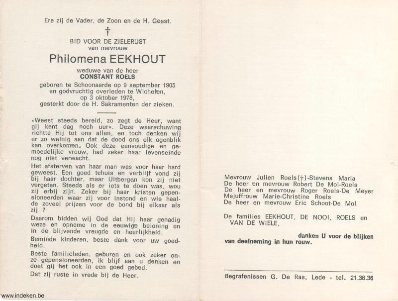 Philomena Eeckhout