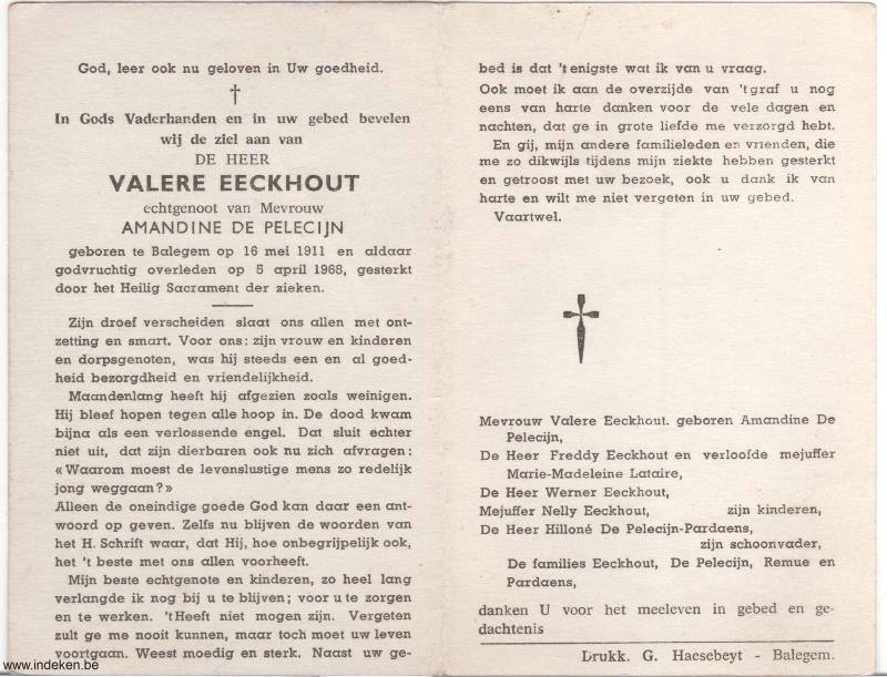 Valere Eeckhout