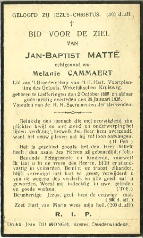 Jan Baptist Matté