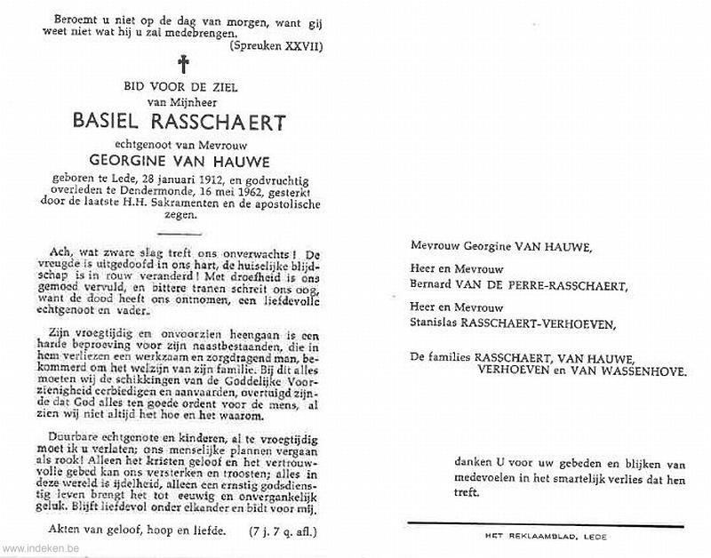Basiel Rasschaert