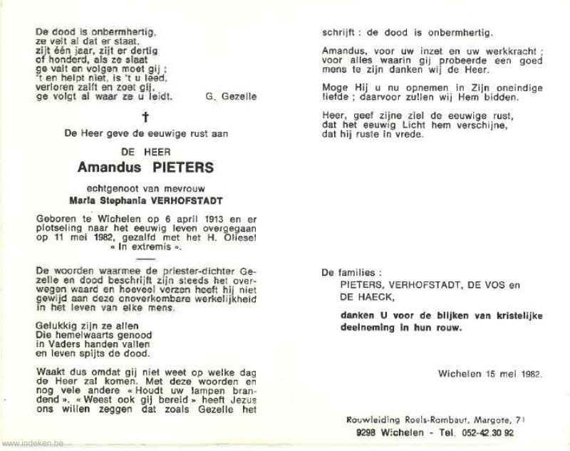 Amandus Pieters