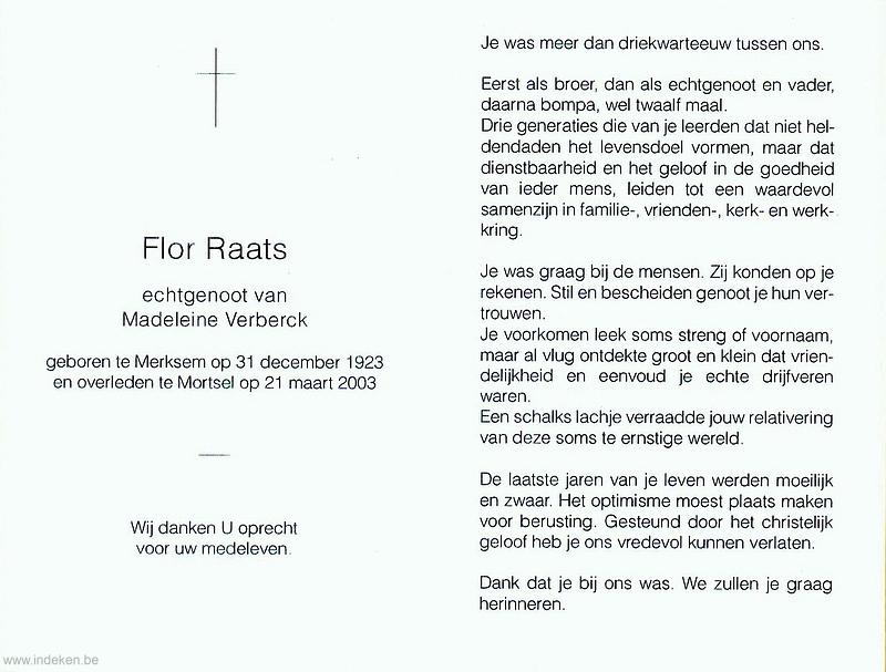 Flor Raats