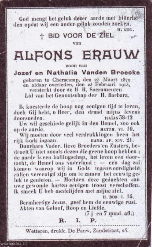 Alfons Erauw