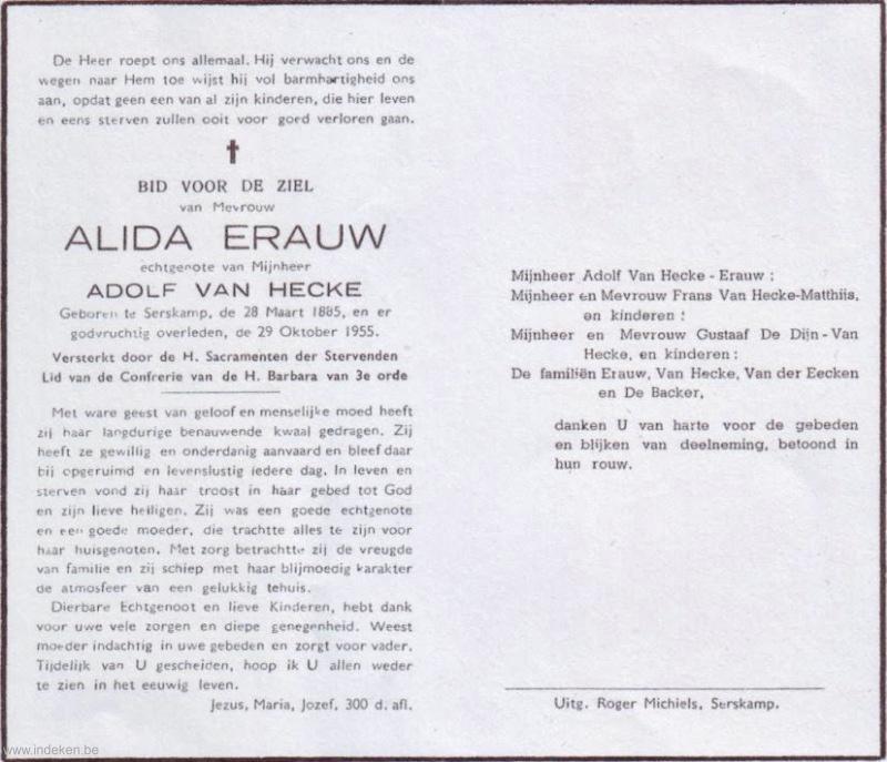 Alida Erauw