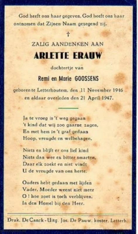 Arlette Erauw