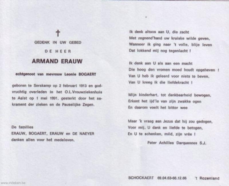 Armand Erauw