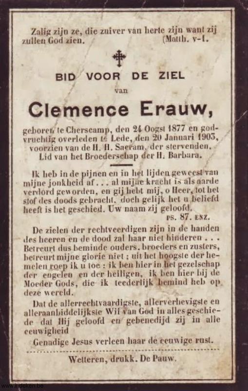 Clemence Erauw