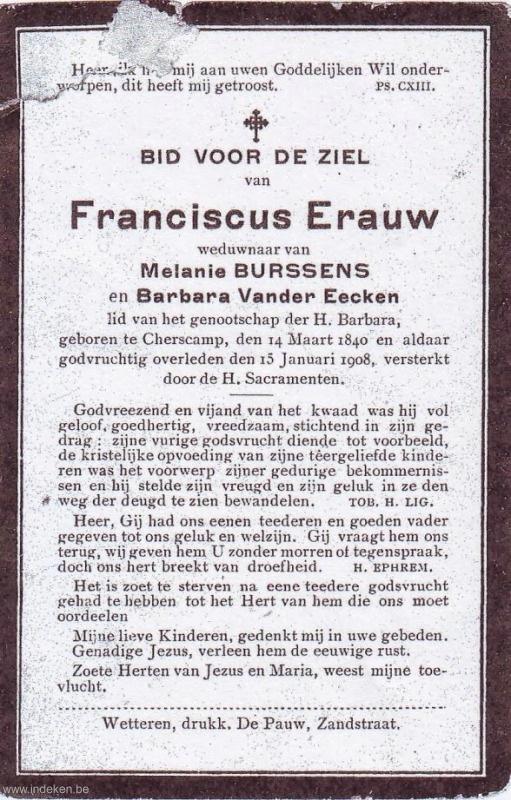Franciscus Erauw