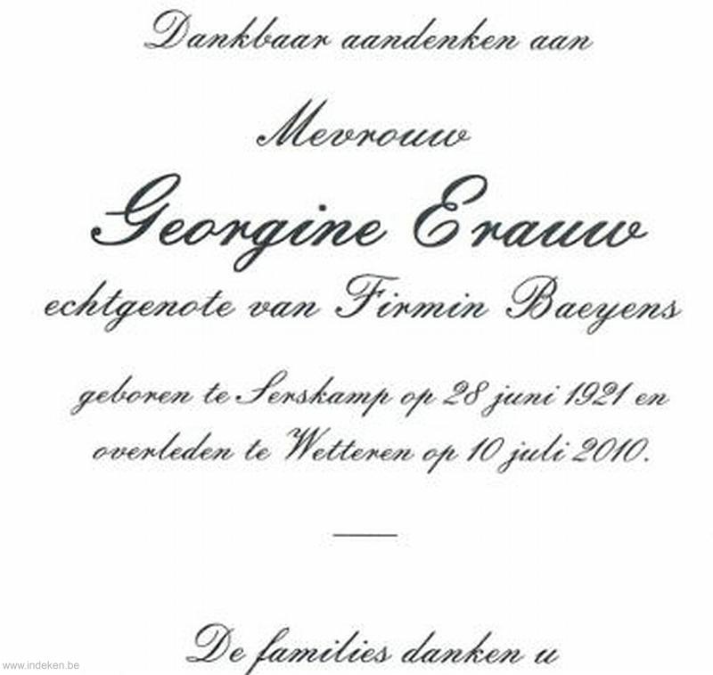 Georgine Erauw