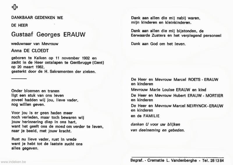 Gutaaf Georges Erauw