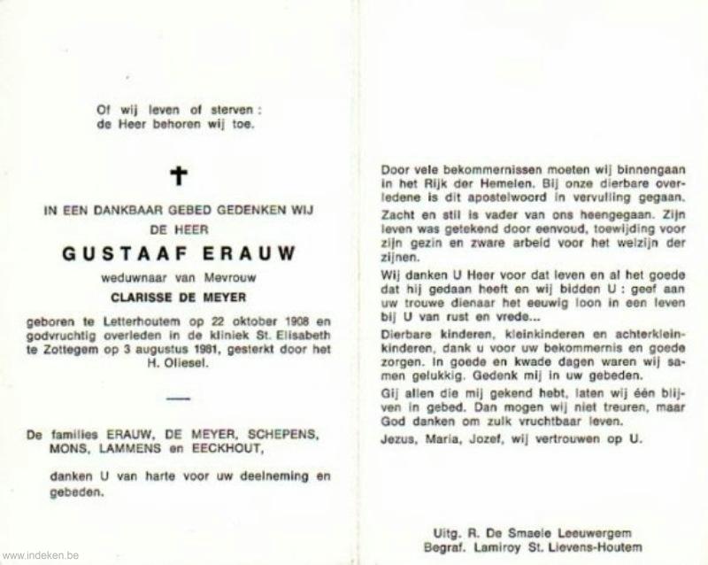 Gustaaf Erauw