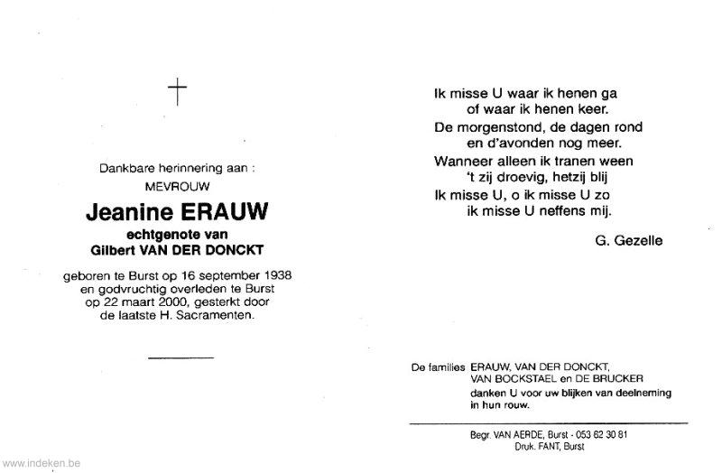 Jeanine Erauw
