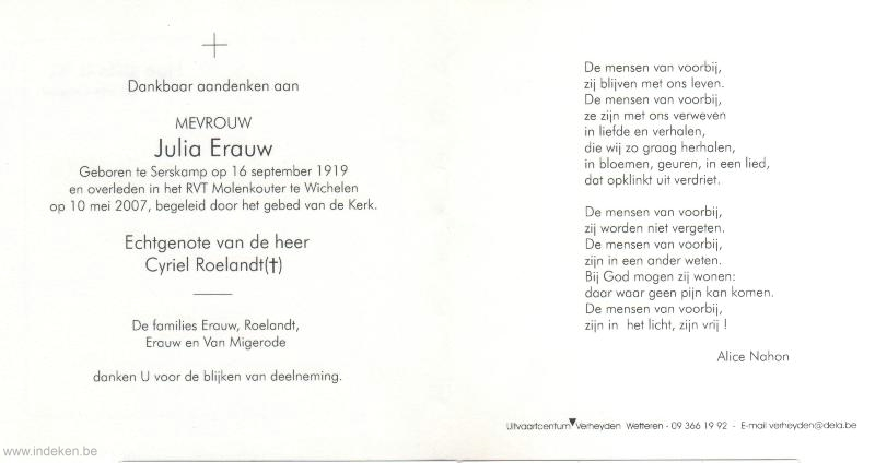 Julia Erauw