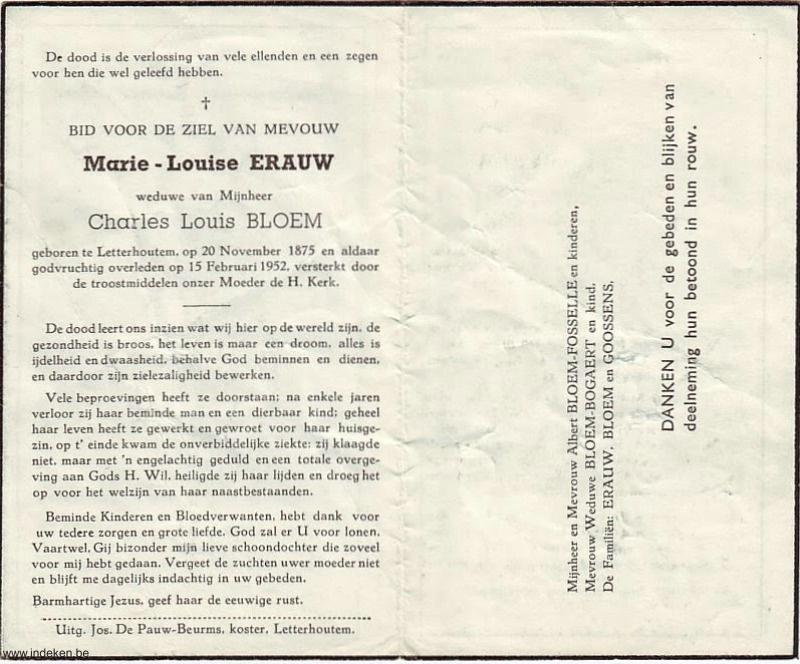 Marie Louise Erauw