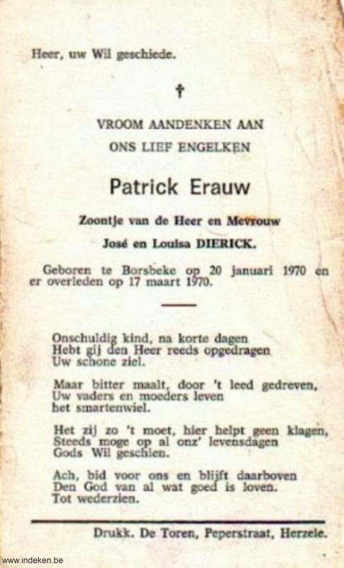 Patrick Erauw
