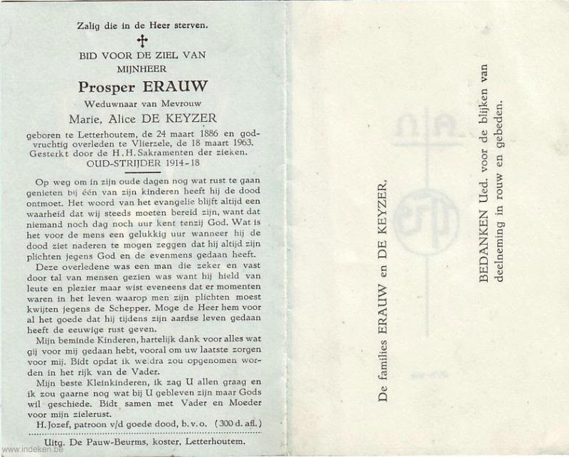 Prosper Erauw