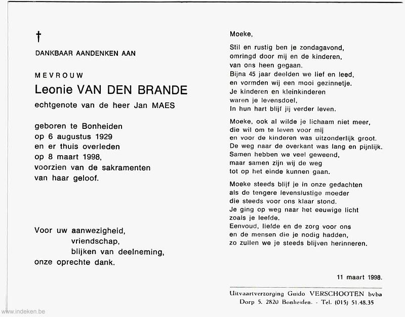 Leonie Van Den Brande