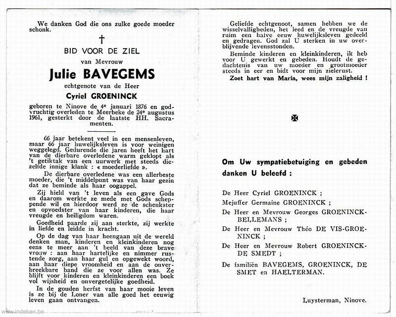 Julie Bavegems