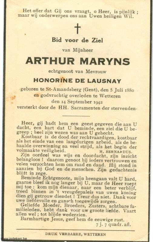 Arthur Frans Maryns
