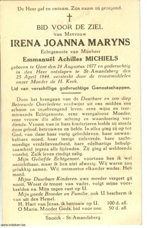 Irena Joanna Maryns