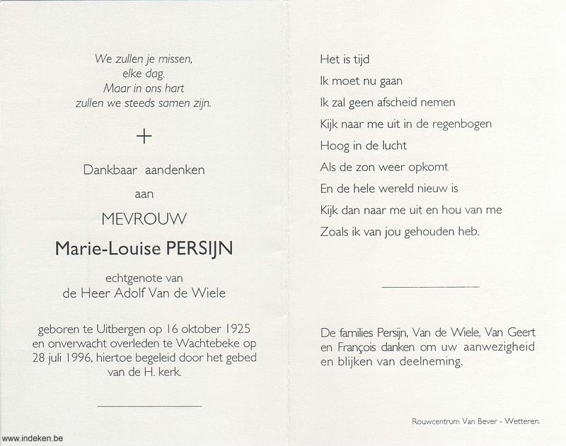 Marie Louise Persijn