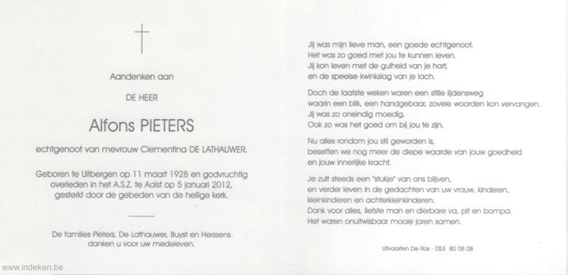 Alfons Pieters
