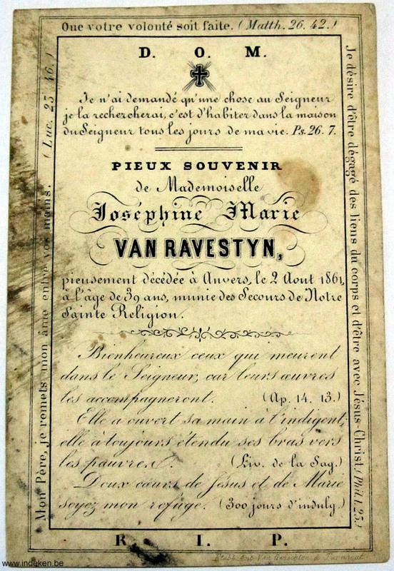 Josephine Marie Van Ravestyn