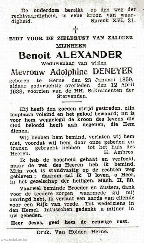 Benoit Alexander