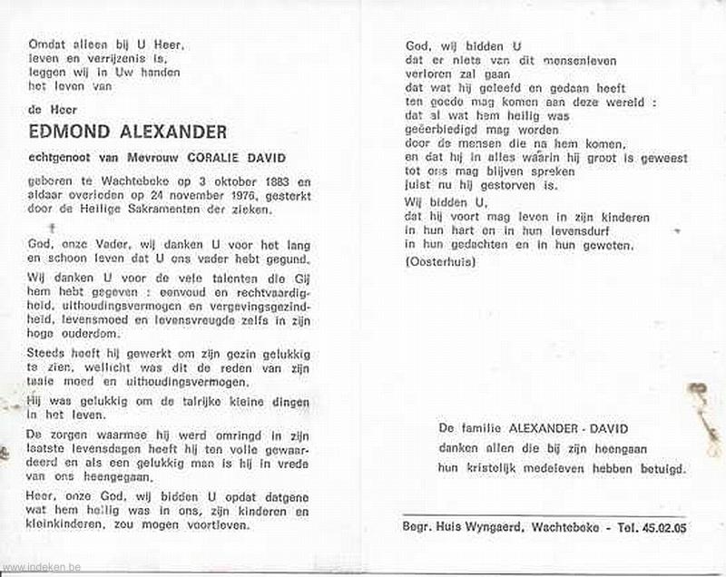 Edmond Alexander
