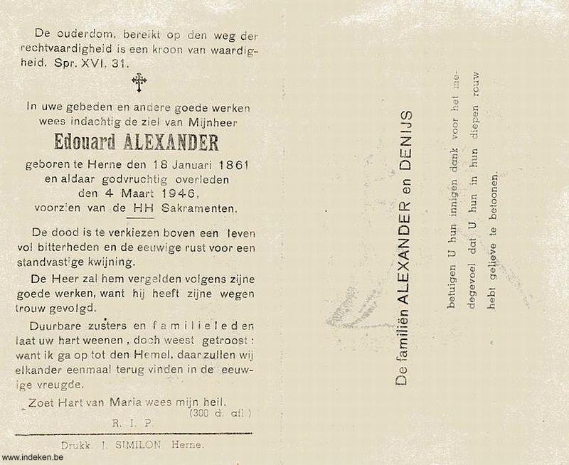 Edouard Alexander