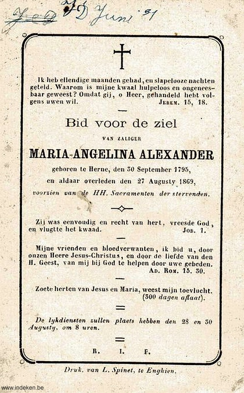 Maria Angelina Alexander
