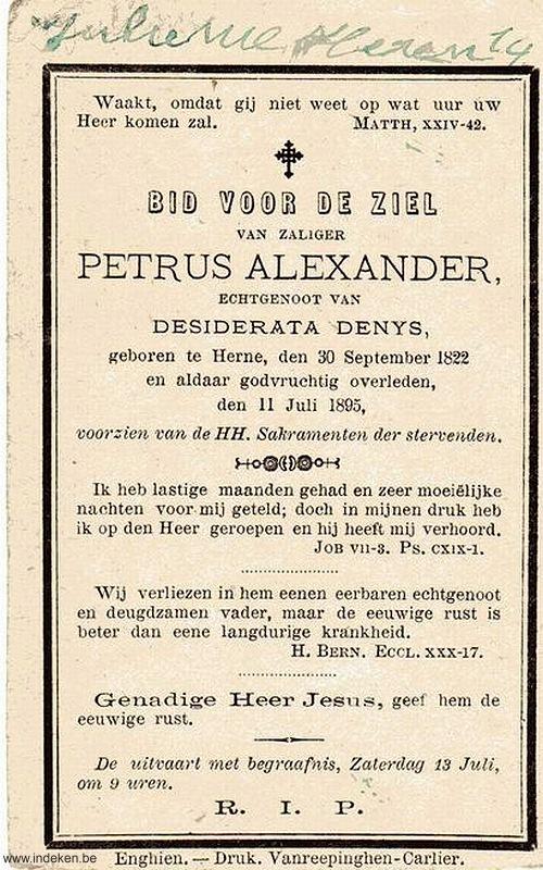 Petrus Josephus Alexander