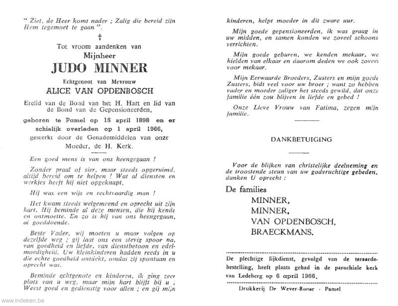 Judo Minner
