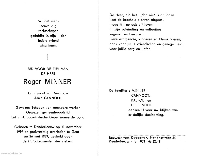 Roger Minner