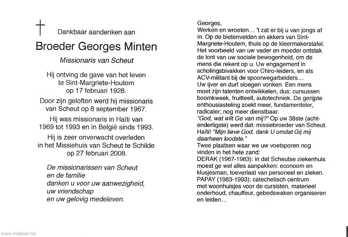 Georges Minten