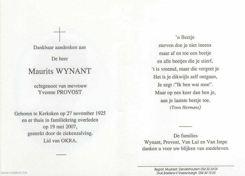 Maurits Wynant