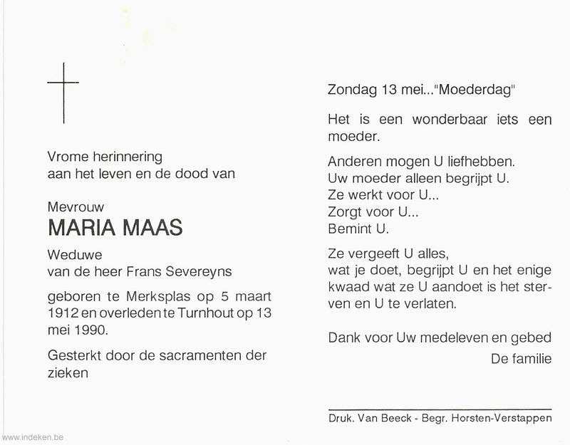 Maria Catharina Maas