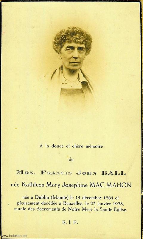 Kathleen Mary Josephine Mac Mahon