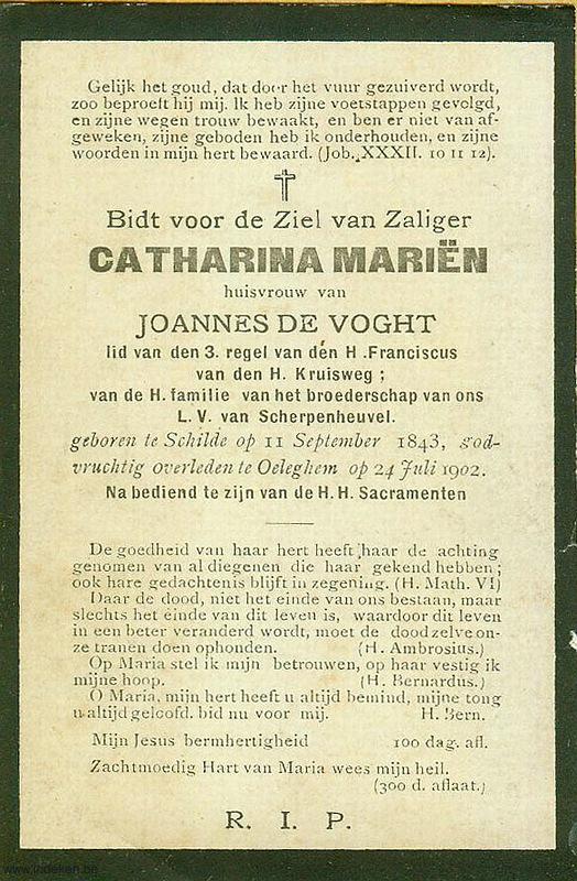 Anna Catharina Mariën
