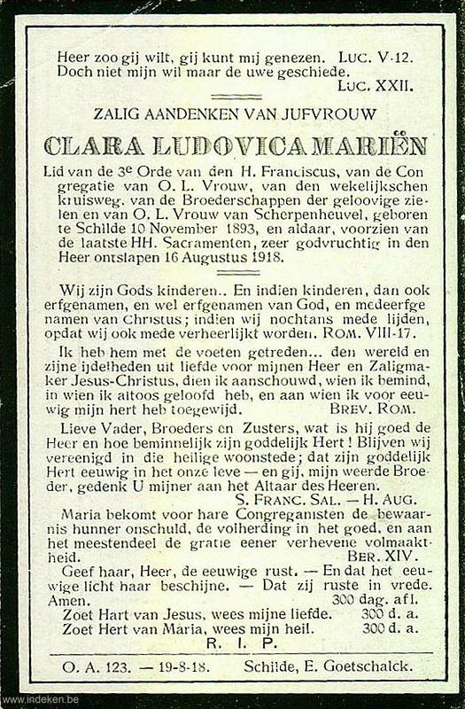 Clara Ludovica Mariën