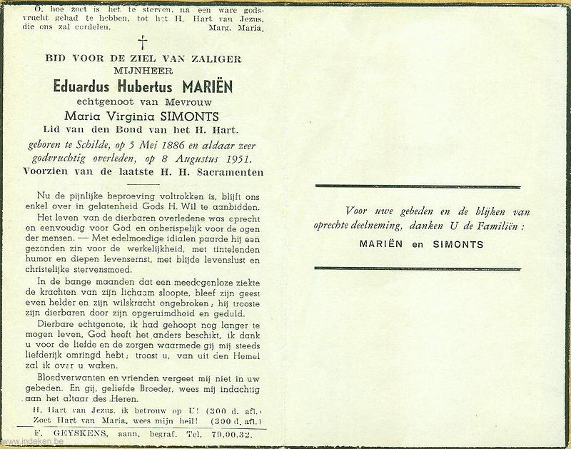 Eduardus Hubertus Mariën