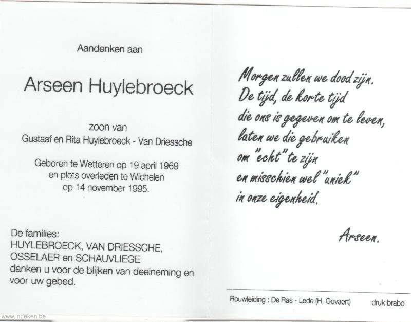 Arseen Huylebroeck