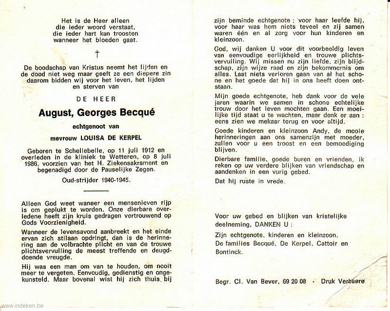 August Georges Becqué
