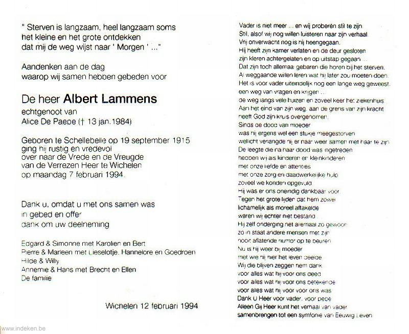 Albert Lammens