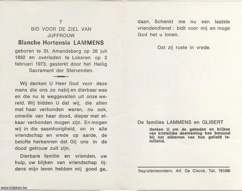 Blanche Hortensia Lammens