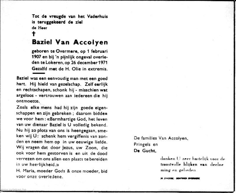 Baziel Van Accolyen