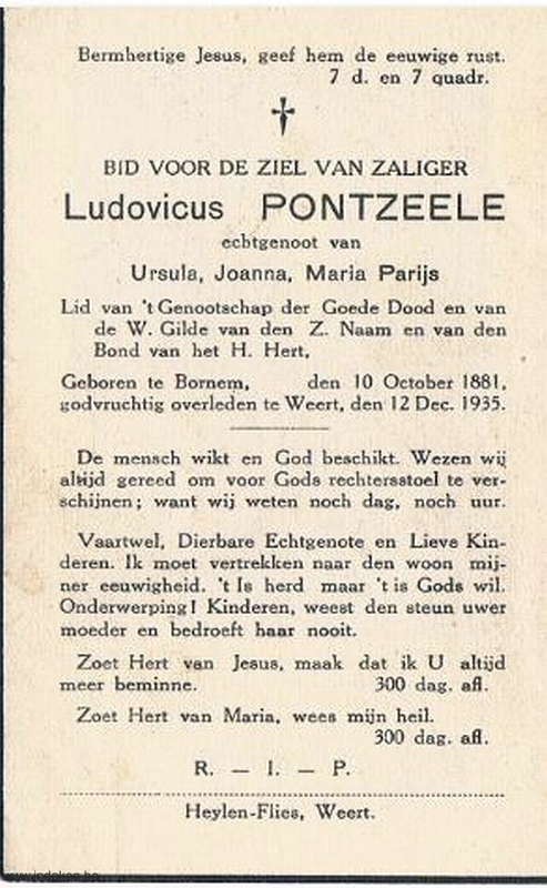 Ludovicus Pontzeele