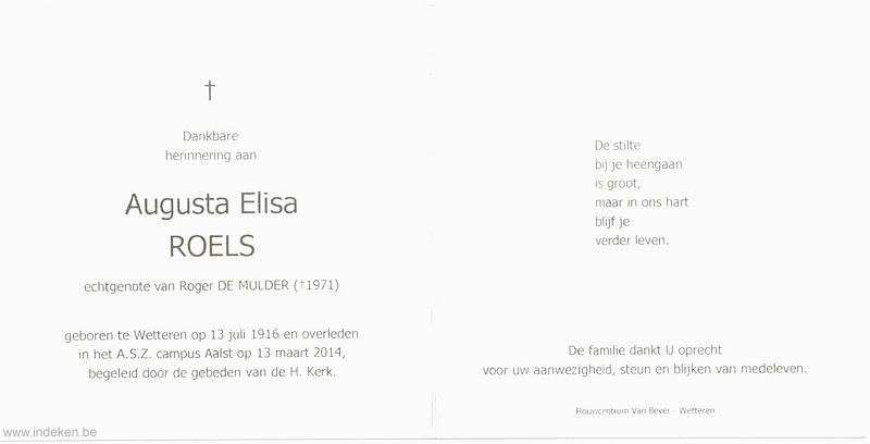 Augusta Elisa Roels
