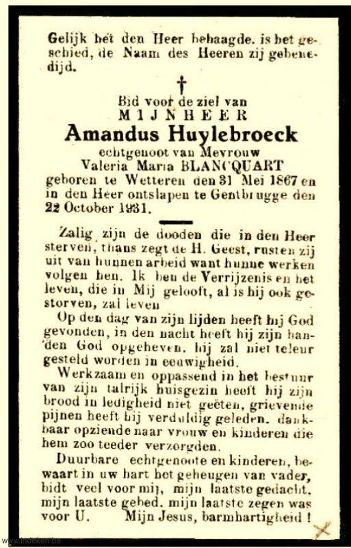 Amandus Huylebroeck
